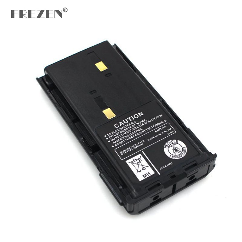 Ni-MH Battery KNB-14 1200mAh 7.2V  For Walkie Talkie Kenwood KNB-15 Tk-272G TK-372G TK-260 TK-270 TK2107, TK3107 Two Way Radio