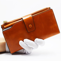 2018 New Hot Sale Wallet high quality wallets for woman Long Wallet Women Zipper Leisure personality Purse Coin Purse 7 color