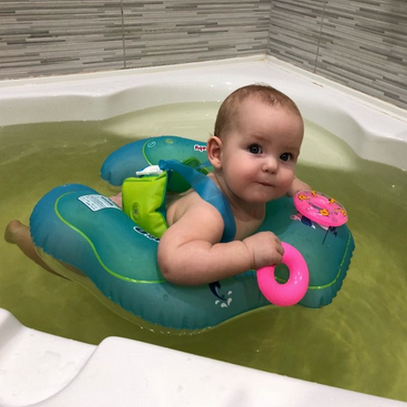 Baby Cute Safety Swim Tool floating Children Waist Inflatable Floats Swimming Pool Toy for Infant Bathtub and Pools Swim Train