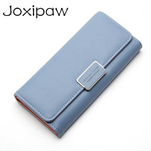 Top Quality 3 Fold Lovely Leather Women Wallet Long Girls Ch