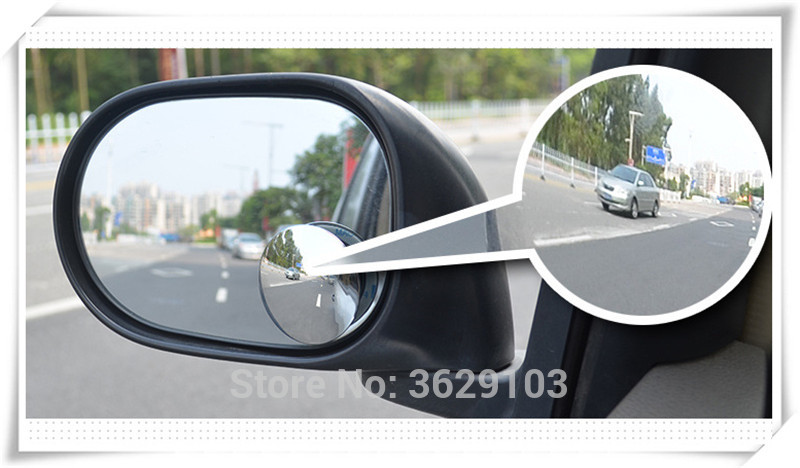 360 Degree Car mirror Wide Angle Convex Blind Spot mirror accessories car-styling for SUBARU Forester Outback impreza Legacy XV