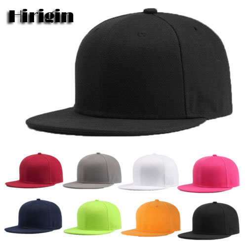 Sports Baseball Cap Blank Plain Solid Snapback Golf Ball Hip-Hop Hat Men Women