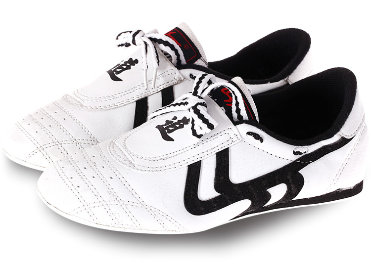 US4-12 Unisex Taekwondo Kung Fu Karate Tai Chi Training Shoes Sneakers Mens Casual White Black