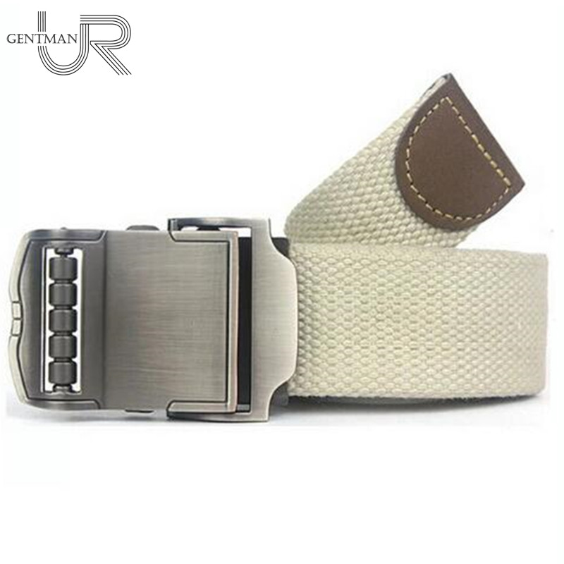 Sports Car Style Buckle Belt Men Brand Canvas Belts High Quality Male Straps Military Equipment Belt Tactical Luxury Belts