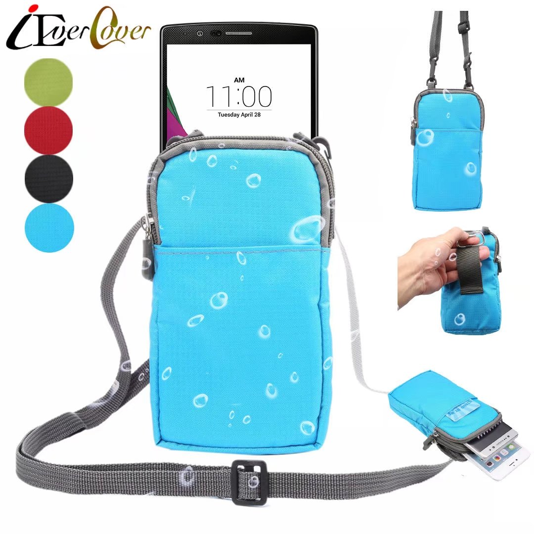 Outdoor Waterproof Nylon Pouch Case for LG X Charge