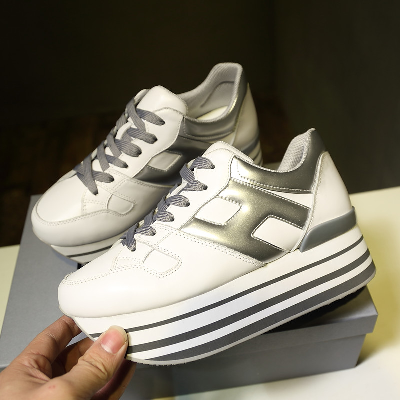 Hot Brand Woman Shoes Platform Chic Casual Shoes Height Increasing Woman Sneakers Flatform Low Top Lace Up Street Outdoor Shoes электробритва philips s3510