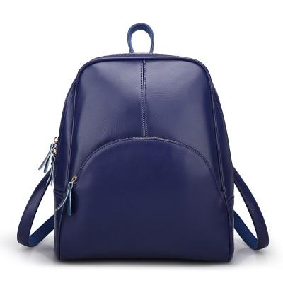 2018 New Leather Shoulder Bag Korean fashion leisure backpack bag wholesale female all-match