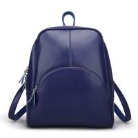 2016 New Leather Shoulder Bag Handbag Korean Fashion Leisure Backpack Bag Wholesale Female All Match