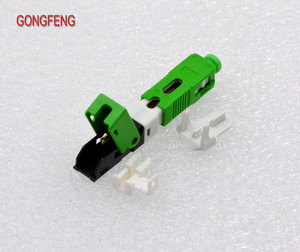 Image 4 - GONGFENG Vendita Calda 100 PCS NEW Fibra Ottica Connettore Rapido FTTH SC Singola Modalità Veloce Connettore Speciale Allingrosso