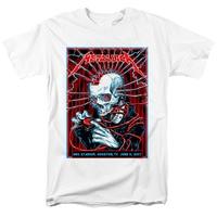 Zombie panda Metallica Hard Rock Heavy Metal Thrash Metal men's top white T Shirt
