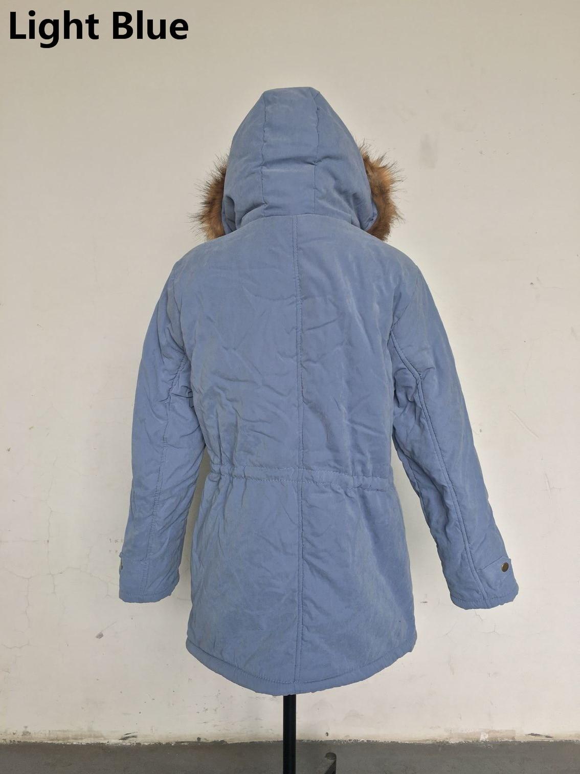 HTB12C6aoTJYBeNjy1zeq6yhzVXaT Women Parka Fashion Autumn Winter Warm Jackets Women Fur Collar Coats Long Parkas Hoodies Office Lady Cotton Plus Size