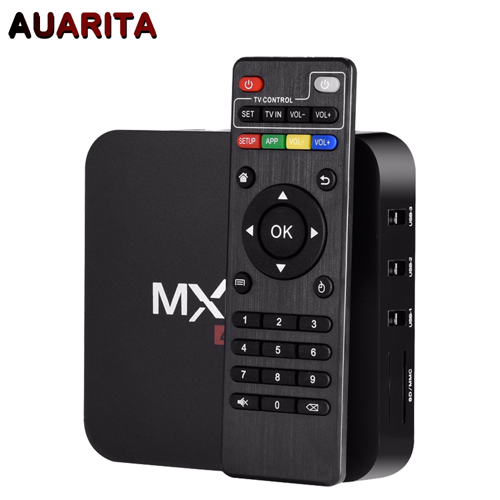 New MXQPro Android TV Box Amlogic S905X Quad Core Android 6.0 DDR3 1G HDMI 2.0 WIFI 4K 1080i/p Kodi 16.0 Full loaded add-ons m8 fully loaded xbmc amlogic s802 android tv box quad core 2g 8g mali450 4k 2 4g 5g dual wifi pre installed apk add ons