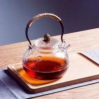 Glass teapot pot kettle single resistant glass teapot Heating