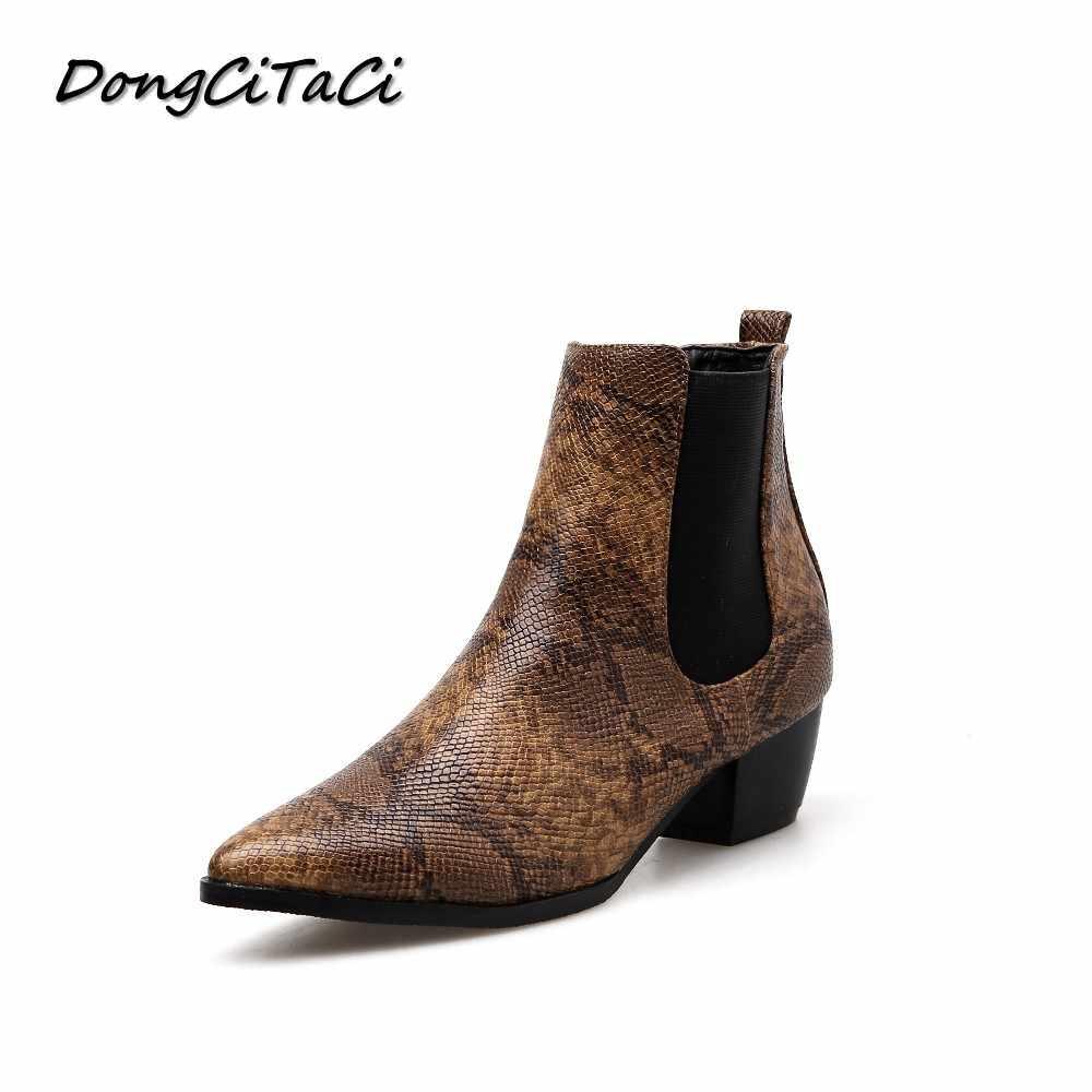 58b5dca95d8744 Detail feedback questions about dongcitaci winter women snakeskin jpg  1000x1000 Snake print shoes for women