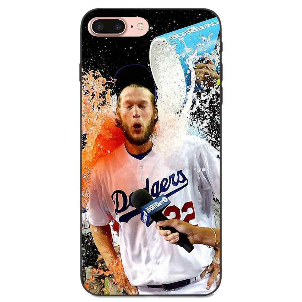 Clayton Kershaw เบสบอลเดิมสำหรับ Samsung Galaxy หมายเหตุ 4 8 9 S3 S4 S5 S6 S7 S8 S9 S10 Edge plus Lite I9080 G313