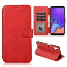 A7 2018 Case Flip Leather Phone Case on For Samsung Galaxy A7 2018 Case Wallet Card Cover For Samsung A7 2018 A750 SM-A750F Case youthsay for coque samsung galaxy a7 case 2018 cover for samsung galaxy a7 2018 case for samsung a7 phone cover with card case