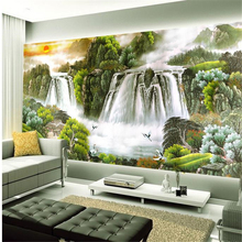 mural moutain 3d Customize