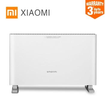 New Original Xiaomi Smartmi Electric Heaters Fast Convector fireplace Handy fan Heater Silent Power saving wall warmer Radiator Пижама