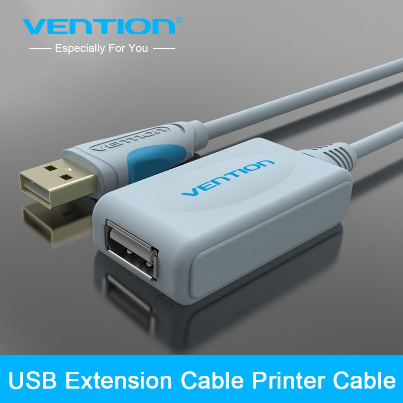 Vention New Arrival USB 2.0 Extension Cable With Amplifier 5m 10m USB 2.0 Type A Male to Type A Female USB Extension Cable Cord adroit 2016 new 1pc usb 3 0 type a male to micro b male extension cable cord adapter 50cm 100cm 180cm may12 drop shipping