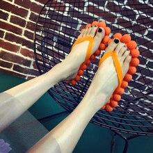2017 New Summer Flip Flops chaussures femmes sandales plates chaussures chinelo pantoufles Personnalité La Maison et à l'extérieur chaussures de mode femmes