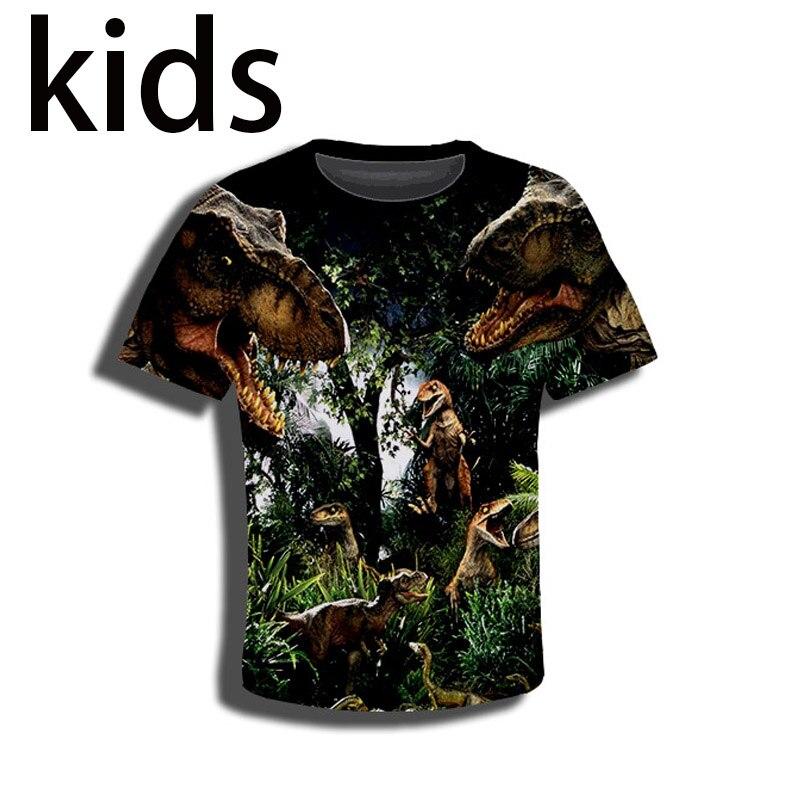 Kids JURASSIC PARK T-shirt Mens Womens