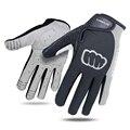 Перчатки для велоспорта NEWBOLER  мужские спортивные перчатки на полный палец  противоскользящие Гелевые перчатки для мотоцикла  MTB  дорожный в...