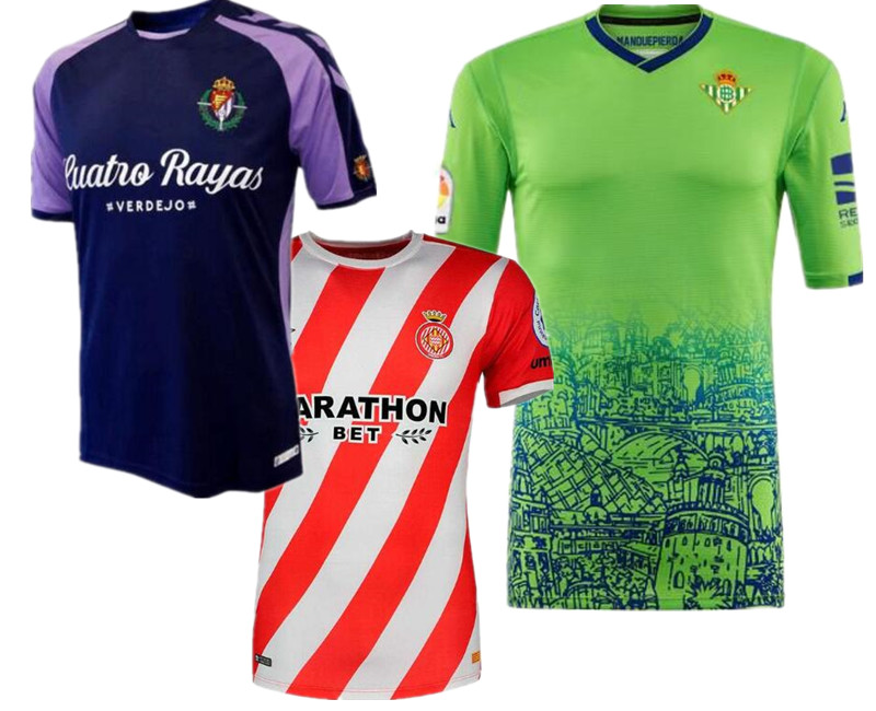 Mr.1991inc&miss.go Granada Shirts. Betis Real Leisure Best Quality Real Valladolid Shirts Casual Girona S-2xl Free Shipping