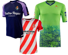 Mr.1991INC&Miss.GO Granada shirts. 2018 Betis Real Leisure Best Quality Real Valladolid shirts Casual Girona S-2XL free shipping(China)