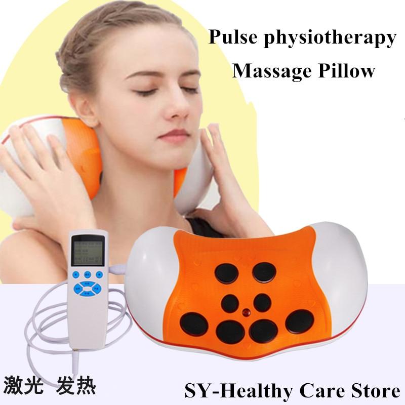 2017 Best present! New Product Cervical massage Chest lumbar heating neck shoulder waist back pulse acupuncture massage pillow best new product on sale 30