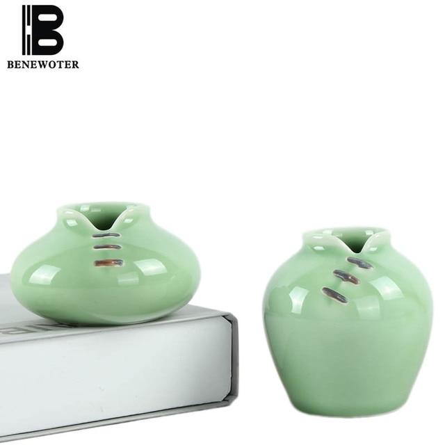 2pcslot Chinese Traditional Cheongsam Cute Ceramic Porcelain