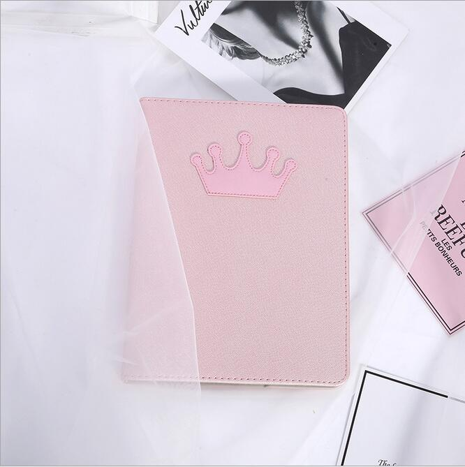 Hot selling solid case for Ipad mini 1/2/3 case,Crown decorated leather auto wake up sleep stand case for Ipad mini1 mini2 mini3