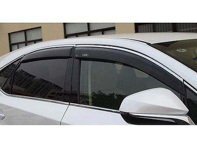 Window Visor Vent Shades Sun Rain Guard 4pcs For LEXUS NX200T NX300H 2015 in Chromium Styling from Automobiles Motorcycles