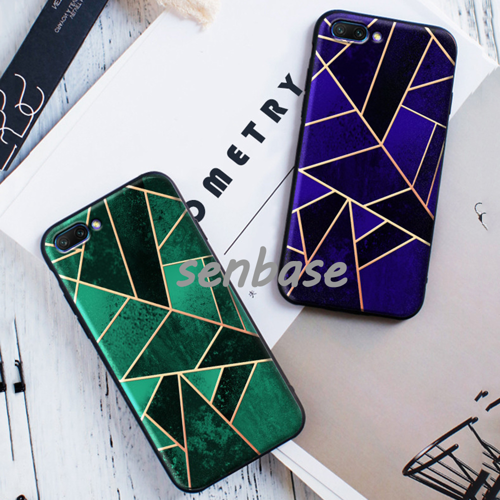 For Huawei Honor 10 Case 5.84 inch Soft TPU Silicone Art Colorful Back Cover Cases For Huawei Honor 10 Phone Case