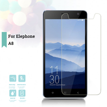 2.5D 0.26mm Ultra Thin Tempered Glass Elephone A8 Toughened Screen Protector Film Protective Screen Case Universal tempered glass membrane for lenovo a5500 tab a8 50 steel film tablet pc screen protection toughened a8 a8 50 a850 a5500h case hd