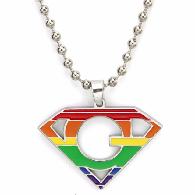 US $4 4 10% OFF|Best Friend Gay Pride LGBT Necklace for Men Women Rainbow  Pendents Necklaces Fashion Jewelry Personalized Super Deals Gifts-in  Pendant
