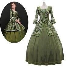 Cosplaydiy 18ème Siècle Victorien Jour Robe Médiévale Rétro Palais Gothique  robe de Bal Robe Costume L320 6dab83a9a