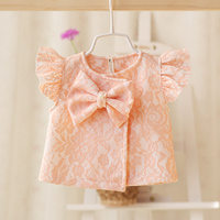 2016 Spring And Autumn New Style Baby Girls Lace Shawl Vest Child Vest Child Vests Fashion