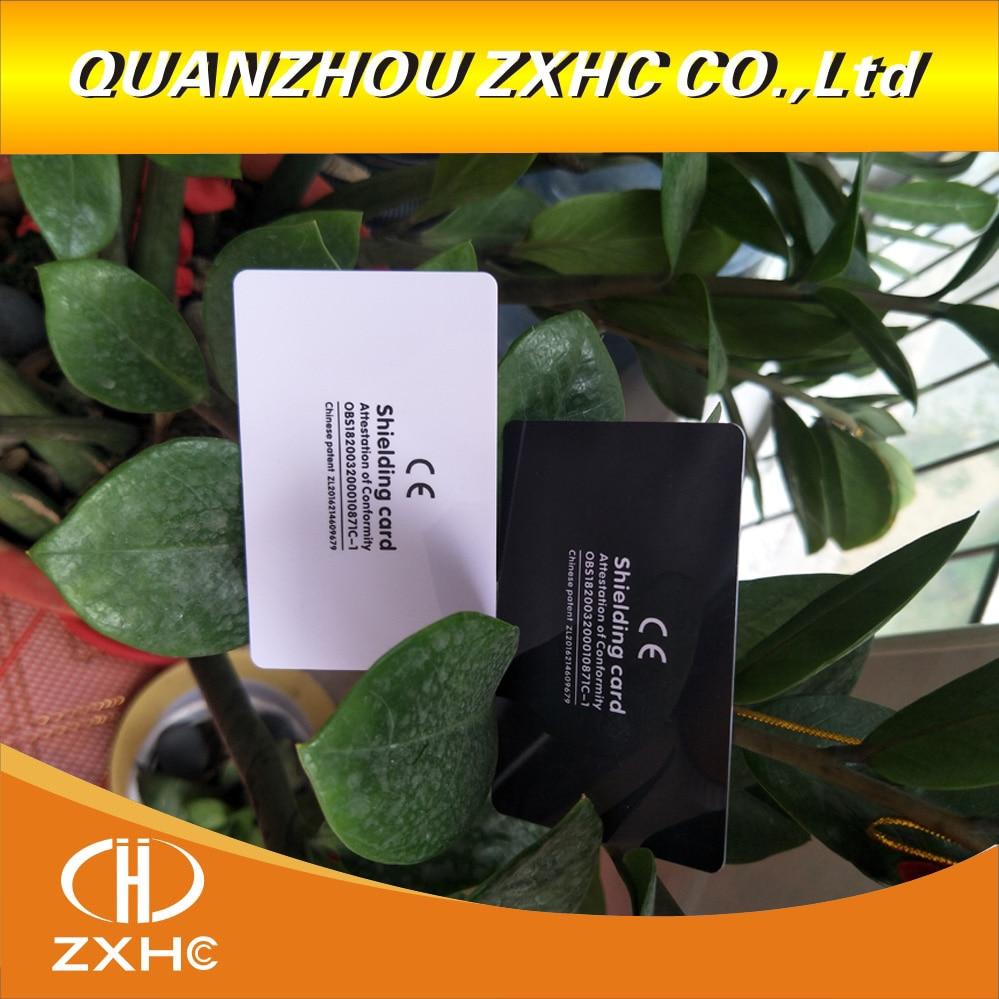 5pcs/lot RFID Anti-Theft Shielding NFC Information Anti-theft Shielding Card Gift Shielding Module Anti-theft  Blocking Card