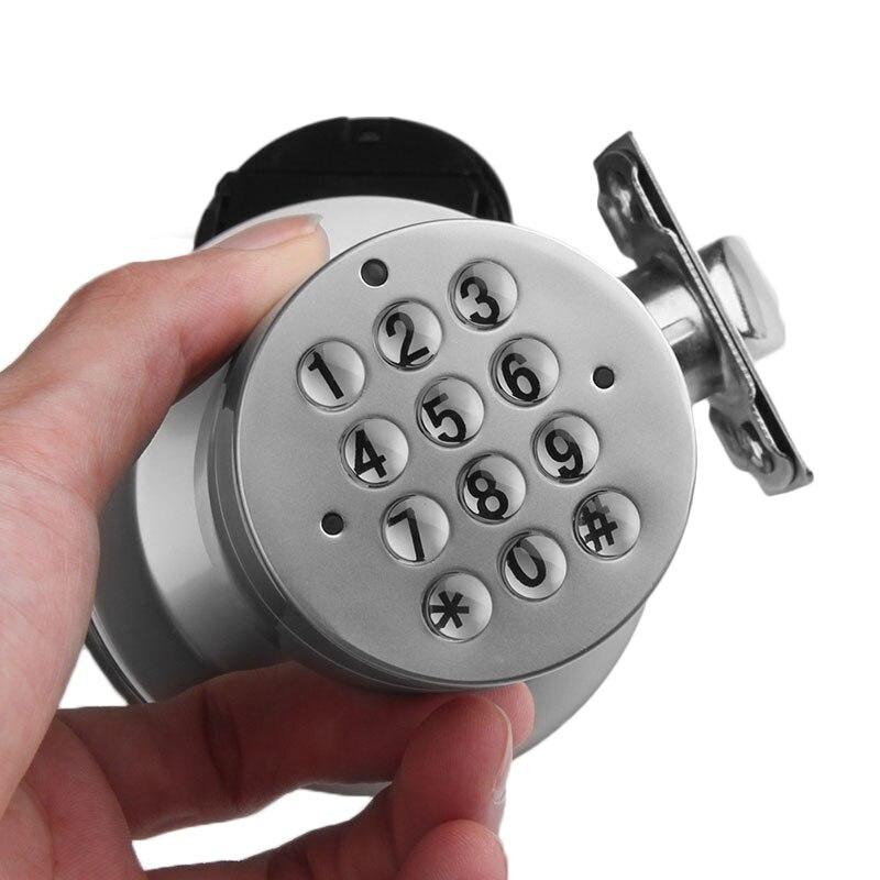 Serrure à Code de porte intelligente mot de passe numérique numéro de clavier armoire serrure à Code de porte en acier inoxydable armoire tiroir clés libres serrure