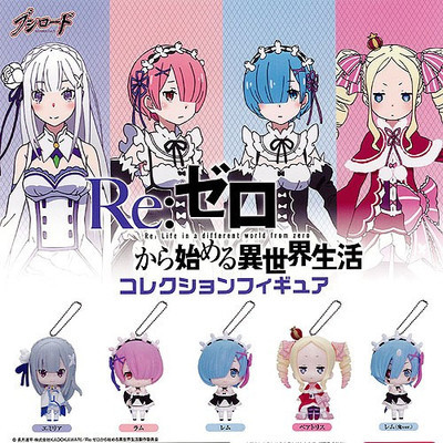 Anime Re Zero Kara Hajimeru Isekai Seikatsu Rem Ram Emilia Beatrice Mini PVC Figures Toys 5cm 5pcs/set lis 17 5cm re zero kara hajimeru isekai seikatsu emilia action figure pvc collection model toys anime brinquedos christmas gift