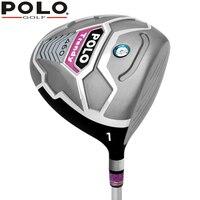 POLO Echtem Golfschläger Treiber Dame R 12,5 grad #1 holz Titanlegierung Holz 113 CM Graphitschaft Sport & Unterhaltung Clubs