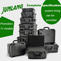 Plastic kluisje Fotografische instrument Tool case Hardware toolbox slagvast verzegelde waterdichte doos met pre-cut foam