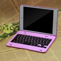 Wireless Bluetooth3.0 Protable Keyboard With Chocolate ABS Button American Broadcom chip For Apple ipadmini4 Tablet PC