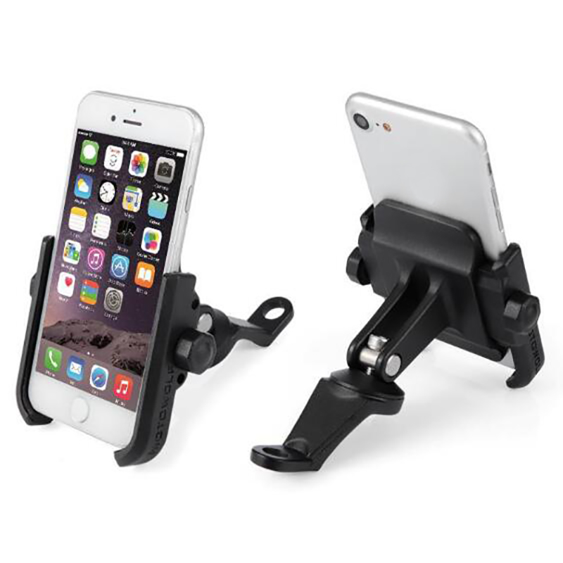 MOTOWOLF Motorcycle Mobile Phone Holder 360 Rotation Bike Phone Mount For Iphone Samsung XIAOMI