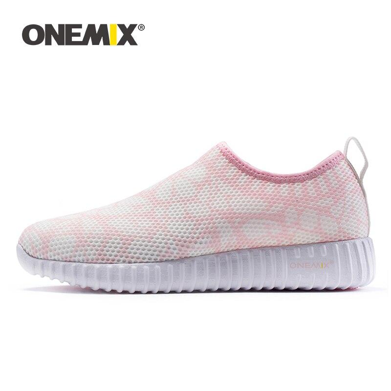 ONEMIX 2019 femmes chaussures De course De poids léger chaussures De sport décontracté plein air occasionnels Zapatos De Mujer