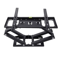 Strong Dual Arm Telescopic Rotating TV Wall Mount Bracket Stand Holder For 26 55 Inch LCD LED TV Load 50kg