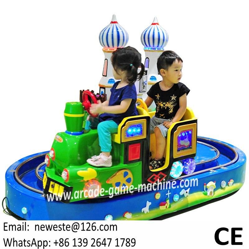 Парк развлечений оборудование Castle Электрический поезд едет для детей