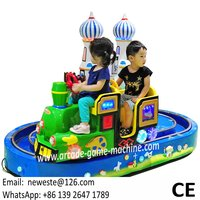 10pcs Amusement Park Equipment Castle Electric Train Rides For Kids