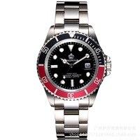 Wrist watches Wrist watches Crown male watch business casual men Steel waterproof calendar Quartz Wrist watches