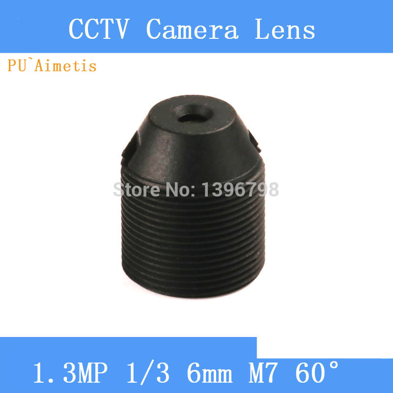PU`Aimetis CCTV lenses 1.3MP 1/3 HD 6mm pinhole surveillance camera 60 degrees infrared M7 lens thread pu aimetis cctv lenses 3mp 1 2 7 hd 2 8mm surveillance camera 120 degrees wide angle infrared m12 lens thread